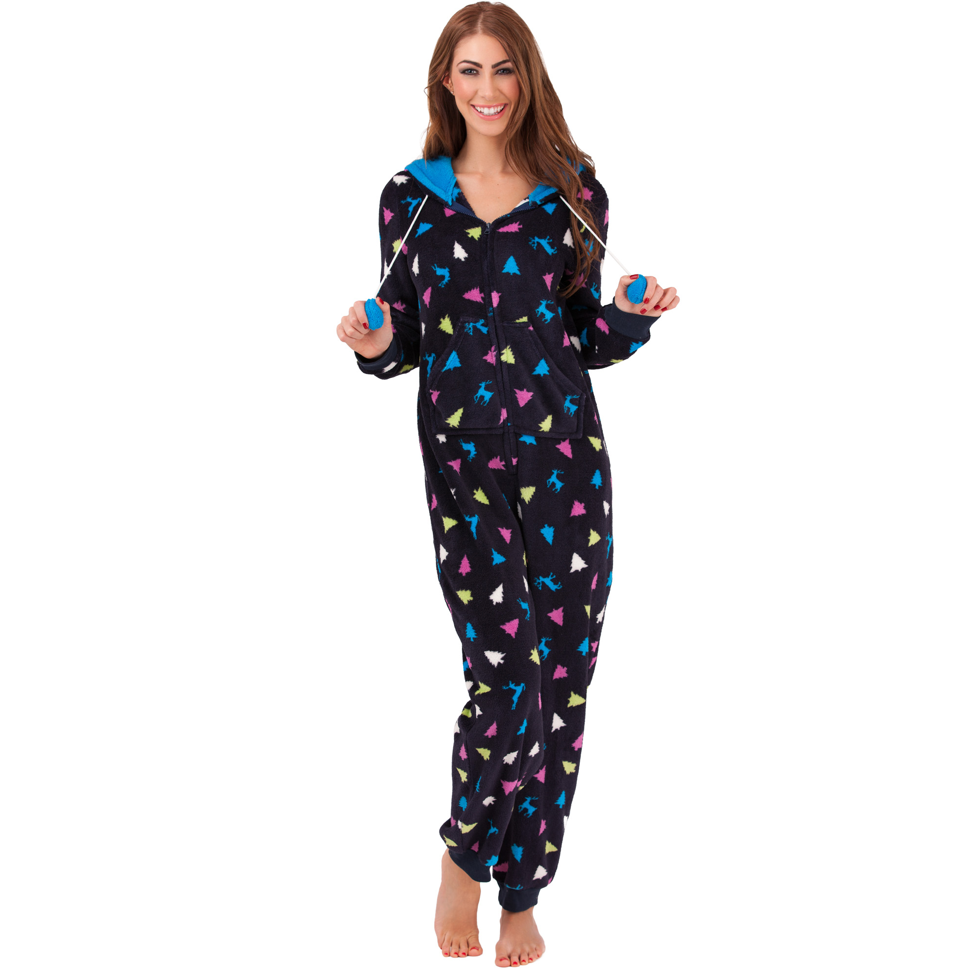 womens jumpsuit overalls onesie pyjama onesie onesie. Black Bedroom Furniture Sets. Home Design Ideas
